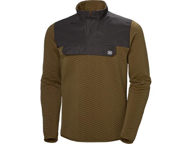 Helly Hansen Lillo Sweater Herrer, cedar brown